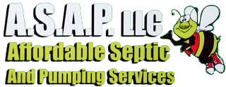 A.S.A.P.  Affordable Septic and Pumping Services Logo